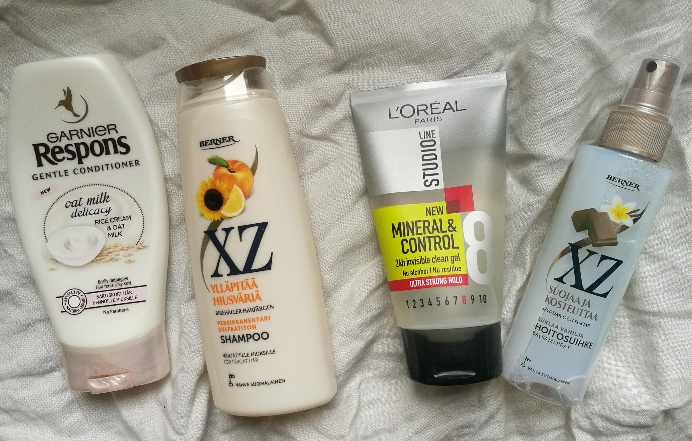 Kosteuttava shampoo kuivalle päänahalle ja hiuksille